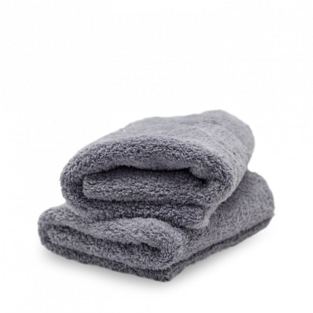 Adam's Borderless Grey Edgeless Towel